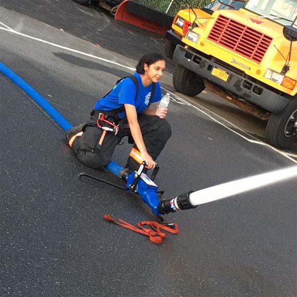 Tarrytown Fire Department master stream