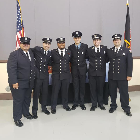 Tarrytown members attend swearing in for member's Portland Maine ceremony