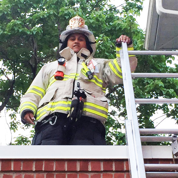 TFD Chief Kelly Murphy